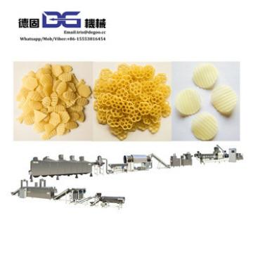 Potato flour pellet corn chips wheat snack pellet produce machines making supplier China Jinan DG
