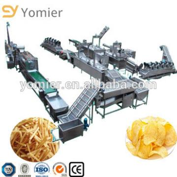 Automatical Fresh Frozen French Fries Potato Chips Making Machine Price For Factory