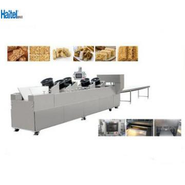 China Best supplier cereal granola bar making machine/production line