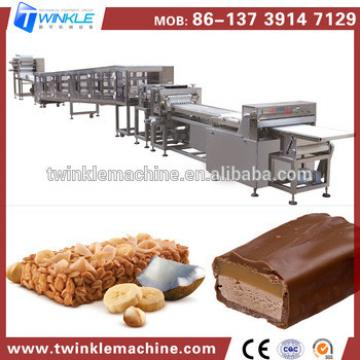 Gold Supplier China Small Scale Breakfast Cereal Bar Machine Snacks Processing Line
