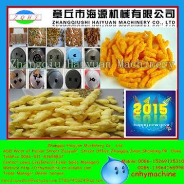 2015 NEW Haiyuan global applicable Kurkure Making Machine/Crispy Corn Curls Maker