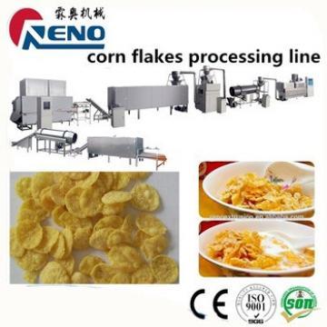 Breakfast cereal corn flakes extruder machine