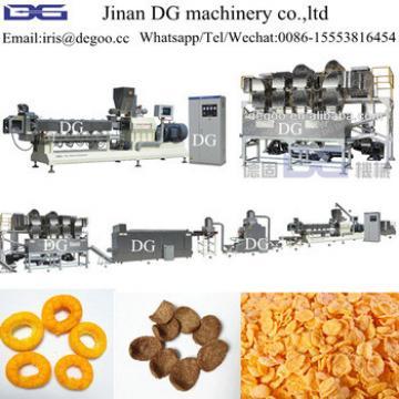 2017 dg Cooking Technology Corn flake production line/milk cereal making machine/cereal making machine Jinan DG