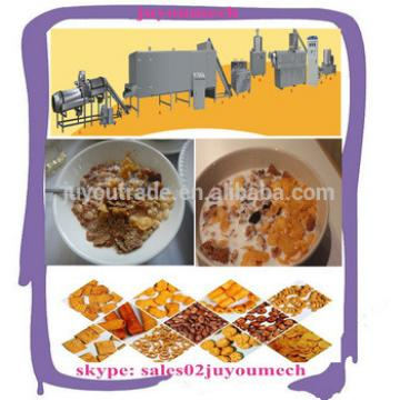 Hot Selling Automatic China professional Nestle Kelloggs Bulk Oats corn flakes machine manufacturer