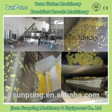 Corn maize flakes making machine