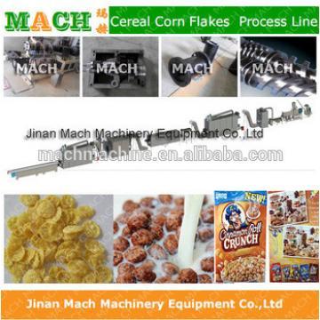 Corn flakes breakfast cereals food making machines
