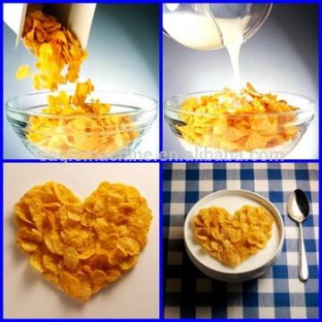 breakfast cereals(corn flakes)processing line extruder machine