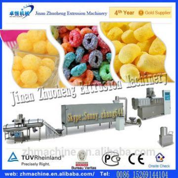 China wholesale market twin screw extruder food snacks machine
