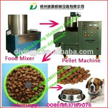 Hot!!!!cheap price with many kinds of molds dog chewing food maker/ production line
