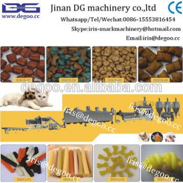 Automatic pet food /cat/fish /dog manufacturing line 100kg 1000kg per hour