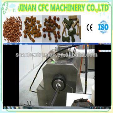 chewing/jam center pet food processing machine