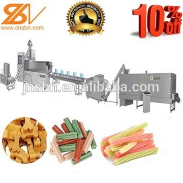 Dog Chewing Gum Food Extruded Processing Line