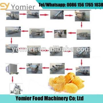 Commercial Potato Chips Cutter/Lays Potato Chips Making Machine Price
