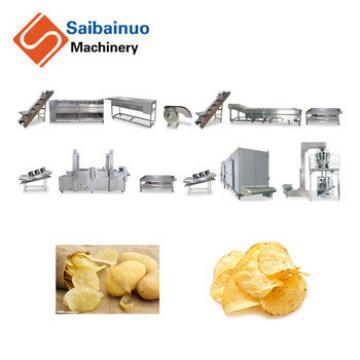 automatic industrial potato chips making machine