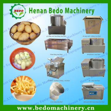 BEDO fresh potato chips making machine /potato chips production line