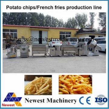 Newest NT-70 automatic potato chip making machine/french freis production line/potato chips frying machine