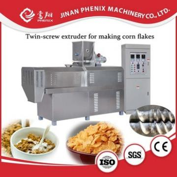 corn flakes Breakfast Cereals corn snacks machinery