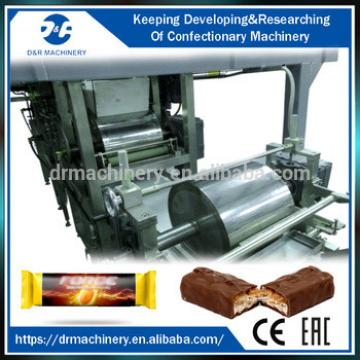 Production line machines for chocolate bar, granola bar making machine/production line