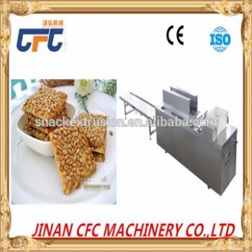 Oatmeal chocolate cereal bar moulding formiing making machine