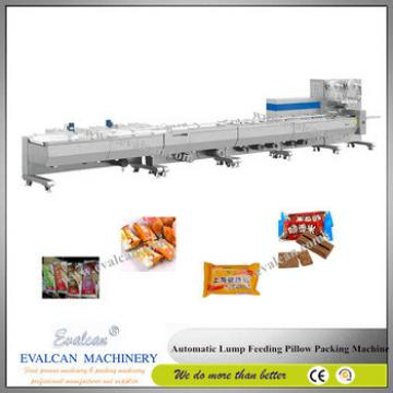 Automatic horizontal pillow energy bar, granola bar, protein bars bag packaging machine