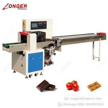 Automatic Horizontal Chocolate Bar Wrapping Pasta Macaroni Pillow Packing Machine Price Spaghetti Packaging Machine