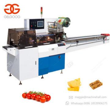 Small Scale Popsicle Candy Chocolate Foil Wrapping Granola Protein Bar Ice Lolly Packaging Noodles Packaging Machine