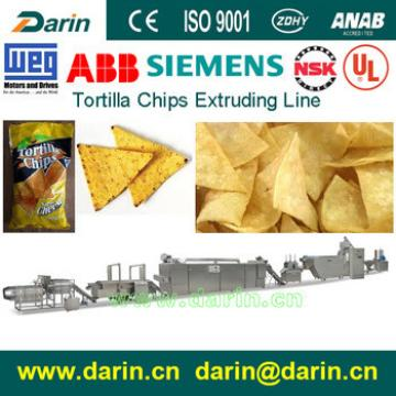 Doritos/tortilla shape/corn chip snack food machine/maker/production line