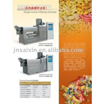 SX3000-100 Single Screw Extruder ,snack pellet extruder,macaroni extruder by chinese earliest,leading supplier