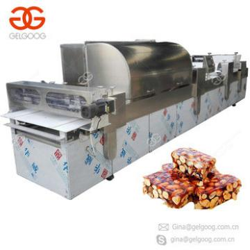 Crisp Candy Production Line Peanut Candy Making Sesame Granola Protein Bar Making Machine