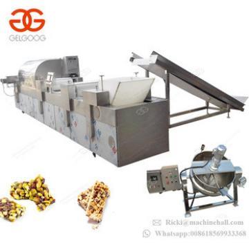 Factory Cheap Price Groundnut Crisp Candy Cutter Cereal Granola Nut Bar Making Machinery Sesame Peanut Bar Cutting Machine