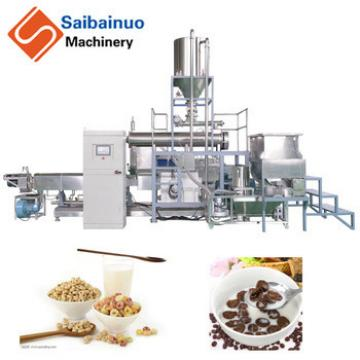 Saibainuo Corn pops Breakfast Cereals processing line made in China