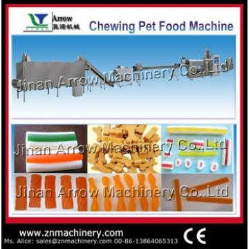 Fully automatic pet chewing snack food processing line