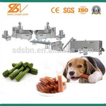 Fully Automatic single screw pet chews processing extruder