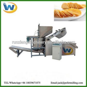 Made in China good price french fries making machine / french fries machine