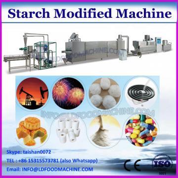 Modified corn starch extrusion machine