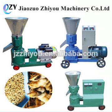 manual flat die portable homemade wood pellet mill animal feed pellet making machine