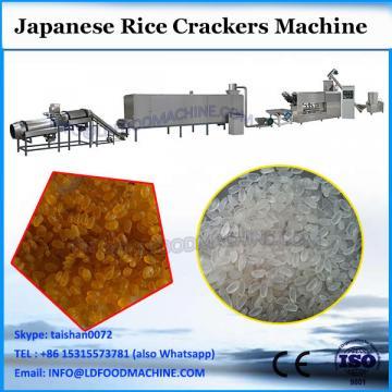 Low energy consumption rice cracker machine/corn flour grinding machine