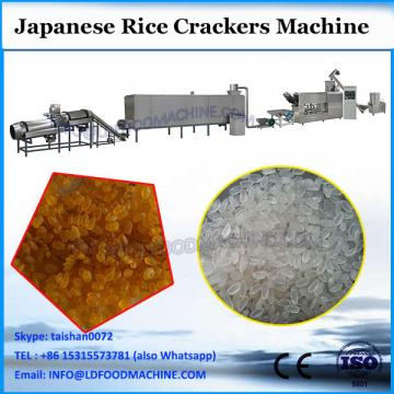 whole automatic machine for rice cracker with recipe