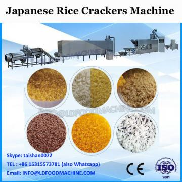 tunnel oven sweet rice biscuit snack machine
