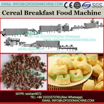 Breakfast Cereal Rice Crispy Snacks Machine