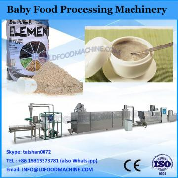 Diversed baby food processing line