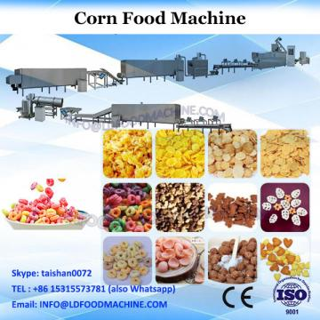 Puffed corn slanty snacks food making machine extruder