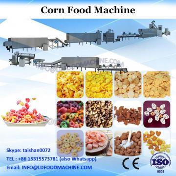 Twin screw extruder snack food machine make corn flakes making machines breakfast cereal machinery