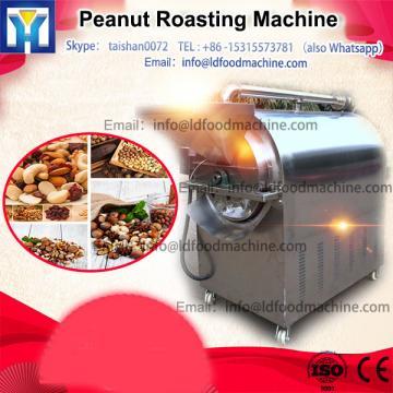 Low consumption peanut and hazelnut roasting machine