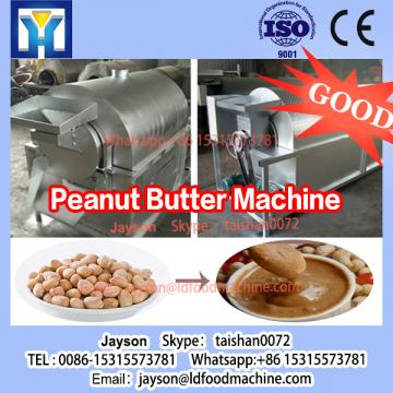 stainless steel small scale peanut butter production plant grinder machine