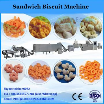 YX-600 China newly designed professional ce certificate manufacturer double-row cream and jam filling biscuit making machine