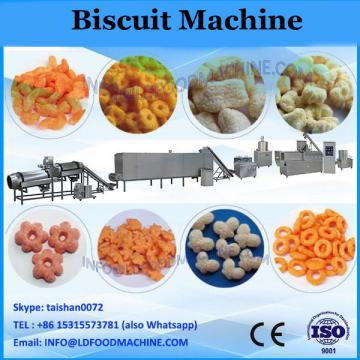 Single lane two color cream biscuit sandwich machine with packaging machine