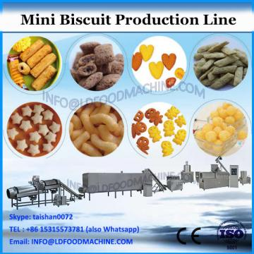 Factory Price 100-200kg/h Automatic Mini Biscuit Making Machine Biscuit Line Production