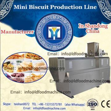 Mini crisp biscuit making machine sweet cookie production line small biscuit making machine