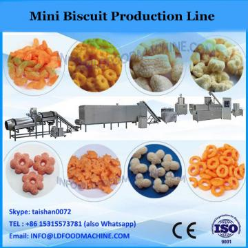 HYZDGD-800 small capacity biscuit production line with depositor mini biscuit making machine small biscuit machine